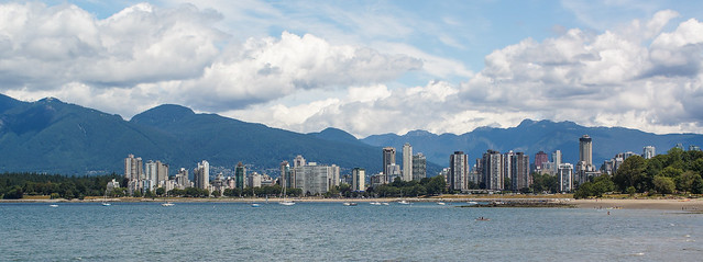 West End from across English Bay