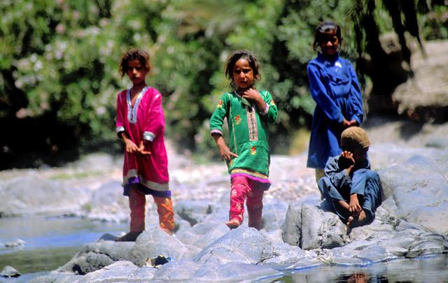 Children at Miss - Wadi Tayin