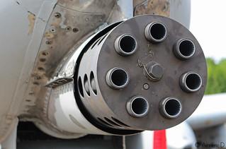 Gatling - Fairchild A-10 Thunderbolt II   by Aimeric D. Photographies