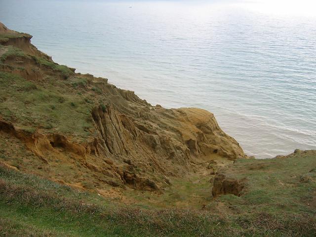 The coast east of Peacehaven