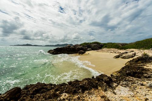 trip saint martin island antilles caraïbes sunset sunrise beach cloud sky ocean sea caribbean