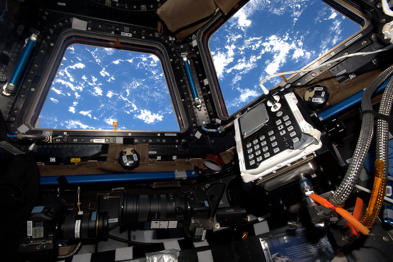 Cameras in the Cupola