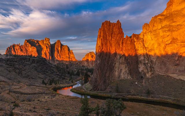 Smith Rock Sunrise in Central Oregon