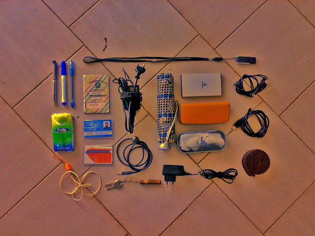 What's in my bag, 24 marzo 08