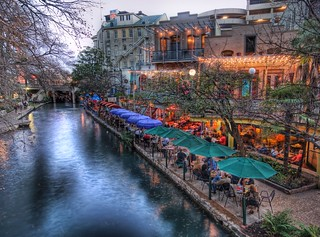 The Restaurant at the River from the Bridge | by Trey Ratcliff