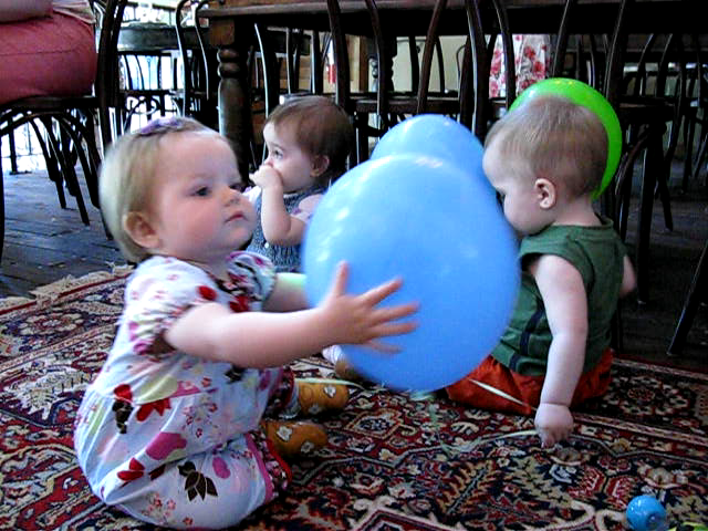30 Seconds in the Life of a Toddler's Birthday Party