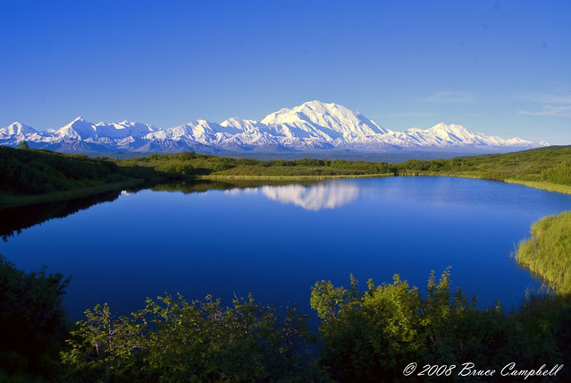 Mt Mckinley from Reflection Pond