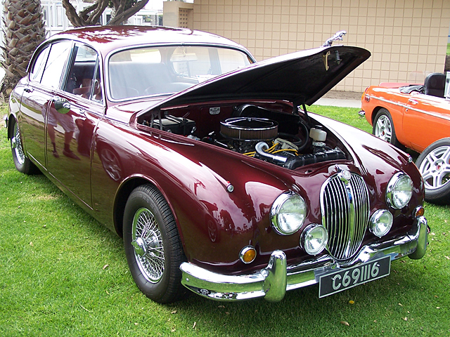 Jag with Buick power