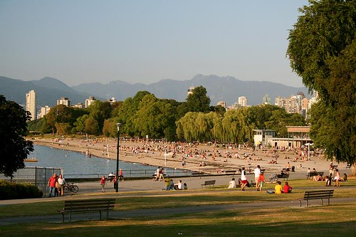 Typical Summer Eve @ Kits | by DragonWoman