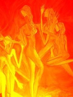 ORANGE PASSION :DESERT DANCE   by deep dreams happy new year