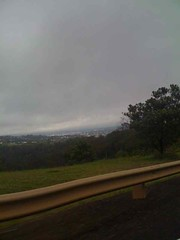 Driving into toowoomba