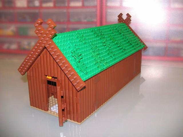 Viking Longhouse For Scandinavian Festival Eric Flickr