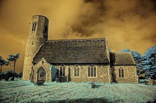 Infrared All Saints church Edingthorpe Norfolk | by Brokentaco