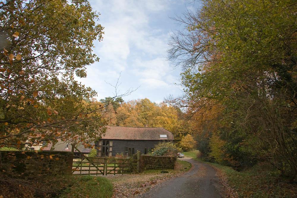 Towards Black Down, Cotchet Farm