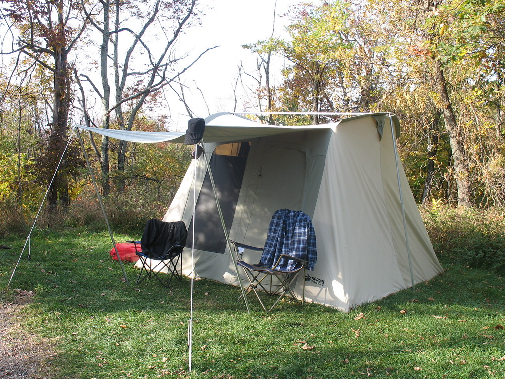 Kodiak canvas tent | Our new canvas tent, best ever owned