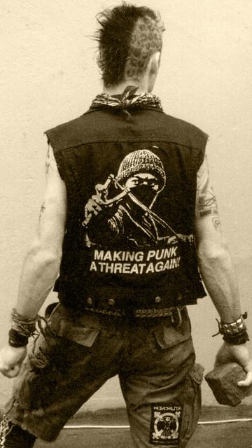 making punk a threat again