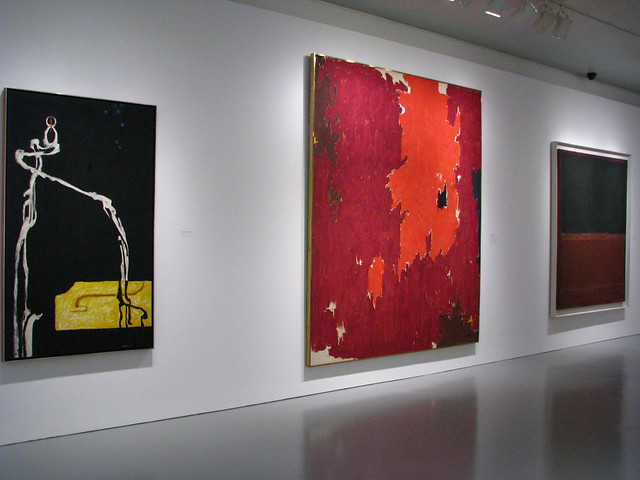 Clyfford Still, Clyfford Still and Mark Rothko
