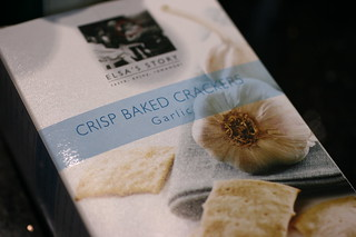 Elsa's Baked Crackers | by FoodMayhem.com