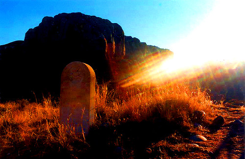 Bluff cemetery - Sunrise by Red Dirt Dawg
