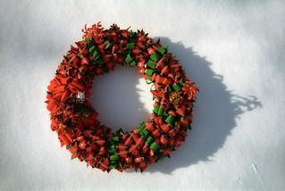 Ribbon Wreath | by Joe Shlabotnik