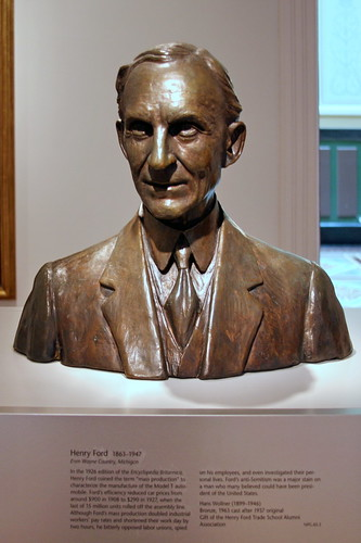 Henry Day Ford >> Henry Ford, 1963 cast after 1937 original, by Hans Wollner… | Flickr