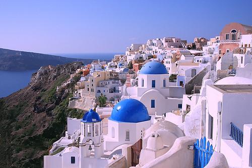 Oia, Santorini | by kdludwig