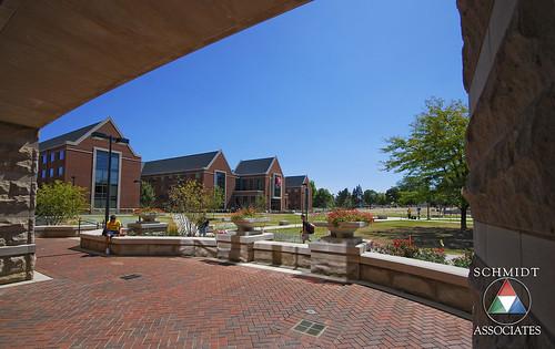landscape design site architectural highereducation