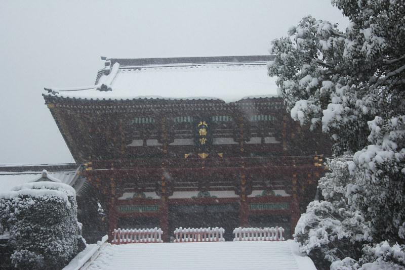 雪の鎌倉_21