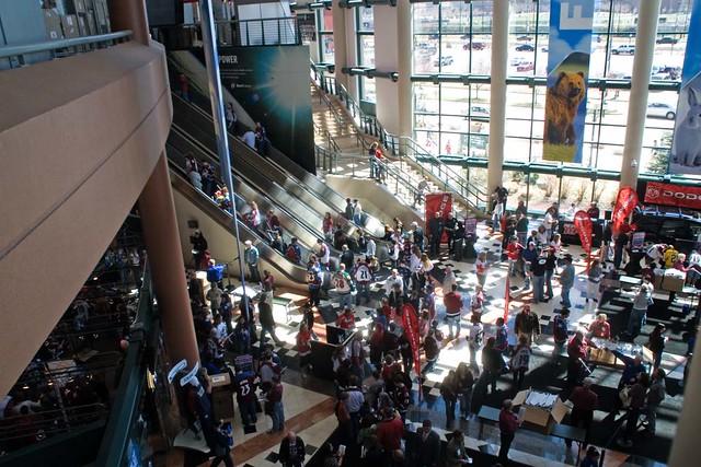 Inside Pepsi Center