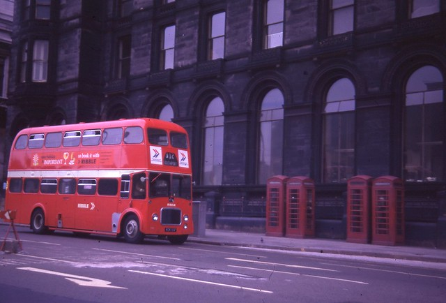 Ribble 1556 KCK 917 Liverpool Lime Street 17/6/73
