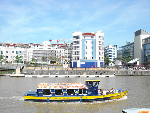 Ferry in the Bristol Harbourside | by James F Clay