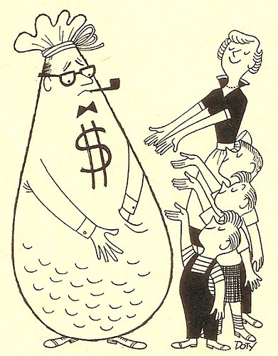 Dad the  Moneybag 1957 | by senses working overtime