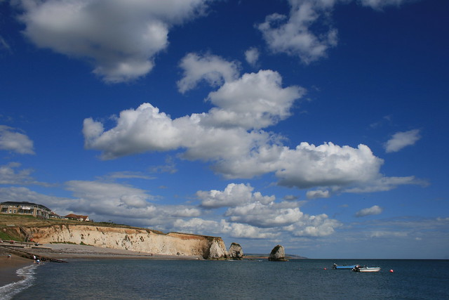 Natural blues - Freshwater Bay, Isle of Wight