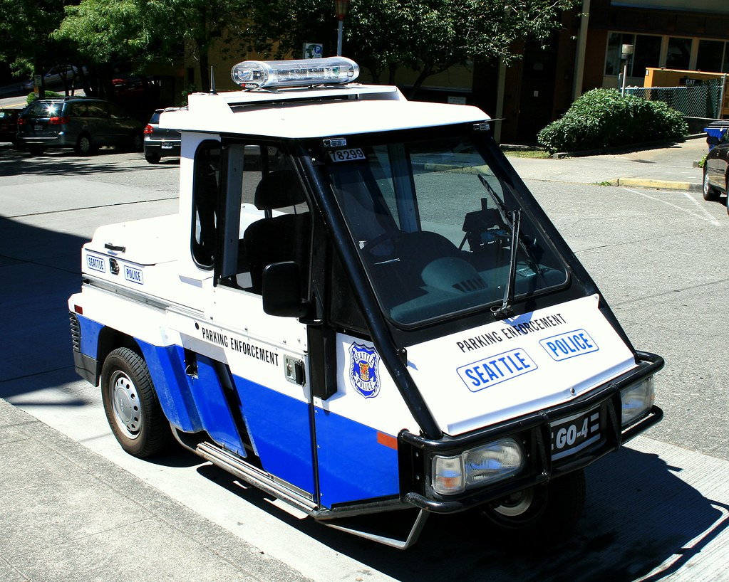 Car To Go Seattle >> Seattle Police Parking Enforcement Go 4 These Little Cars