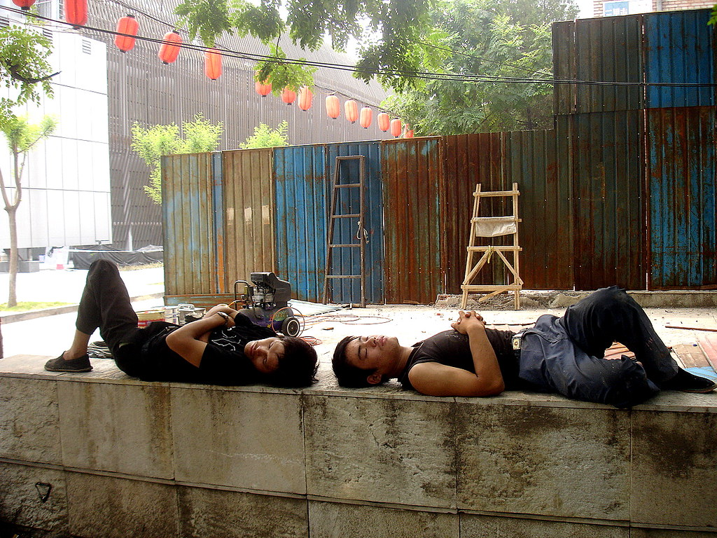 China dormida