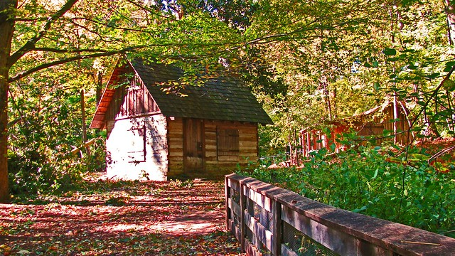 Robert Walker Log House and Gulf Branch Forge