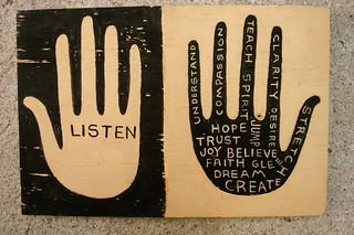 listen & hope | by denise carbonell