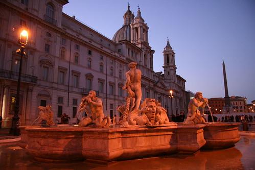 Piazza Navona - fontana del Moro | by RaSeLaSeD - Il Pinguino