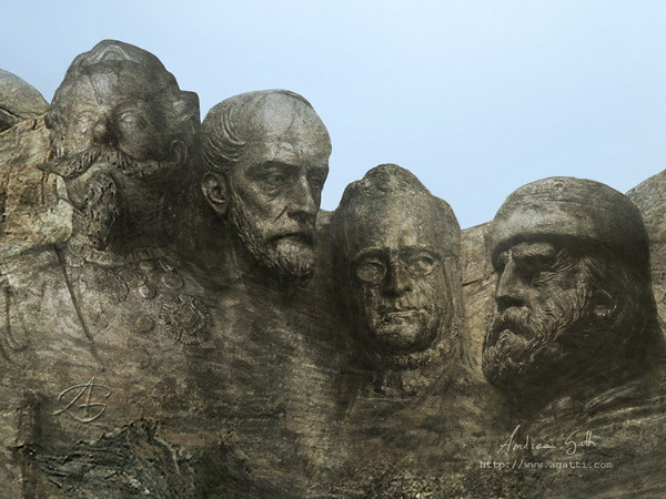 1861 Italian Rushmore