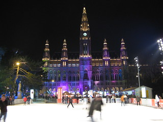 Ice skating at the Rathaus | by Olivier Bruchez
