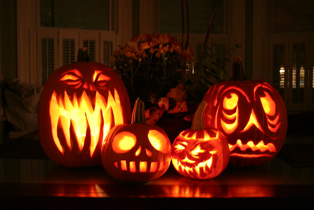 Carving Pumpkins, 2008