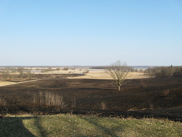 Controlled Burn at Chain O Lakes State Park