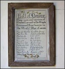 Roll of Honour 1939-1945