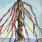 Maypole of Merrymount by David R. Wagner