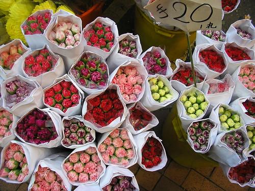 Flowers in HK Market Flower | by marmailletanrouge