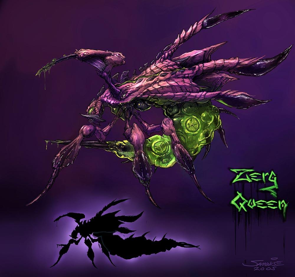 Starcraft Zerg Concept Art