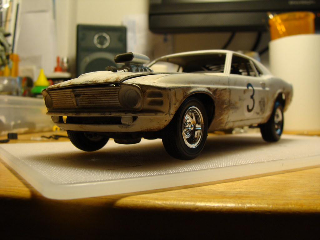 1970 ford mustang 429 boss 1 24 scale model mad max road flickr
