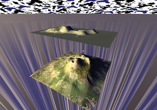 Mappa 3D di Capri e del Vesuvio | by Opensource Obscure