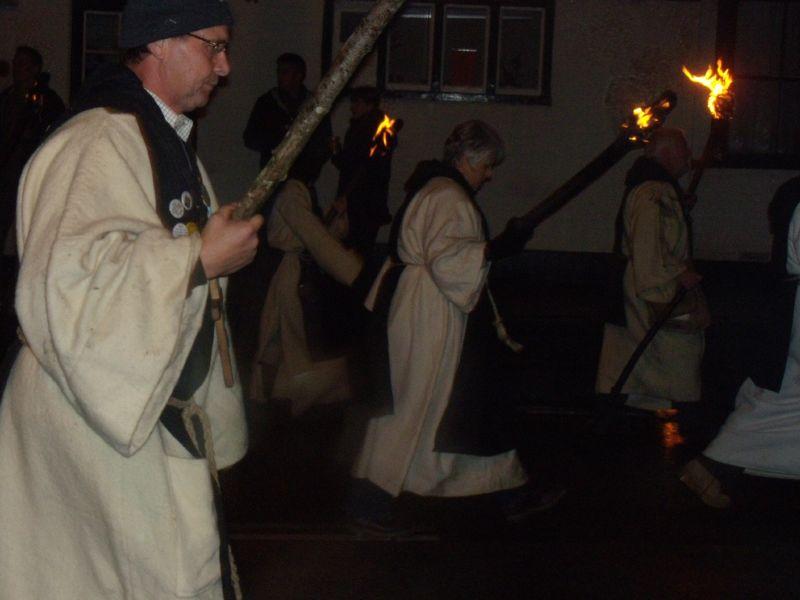 Robertsbridge marchers Robertsbridge to Battle