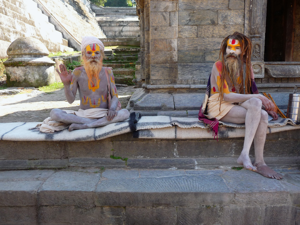 Pashupatinath-holy-men